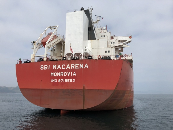 SBI Macarena fitted with Scrubber